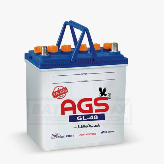 AGS GL-48 Lead Acid Unsealed Car Battery