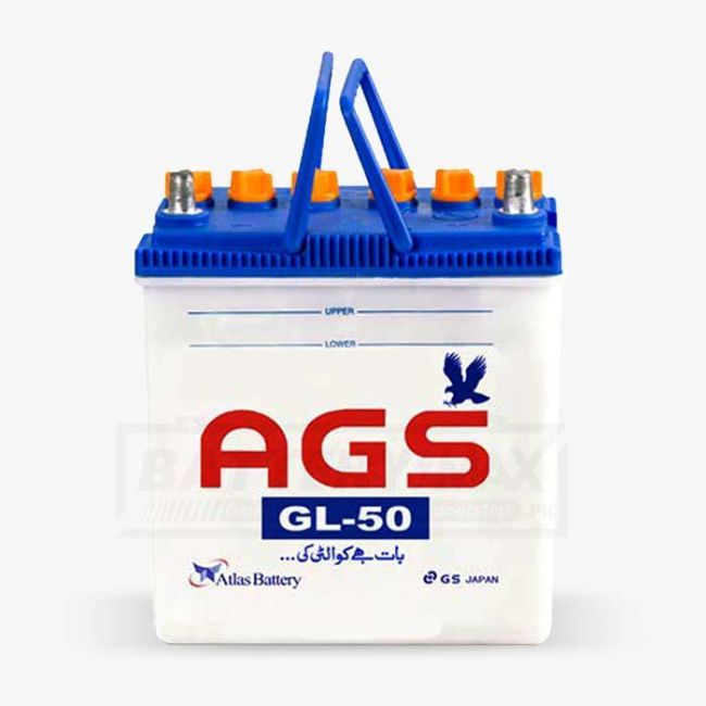 AGS GL-50 Lead Acid Unsealed Car Battery