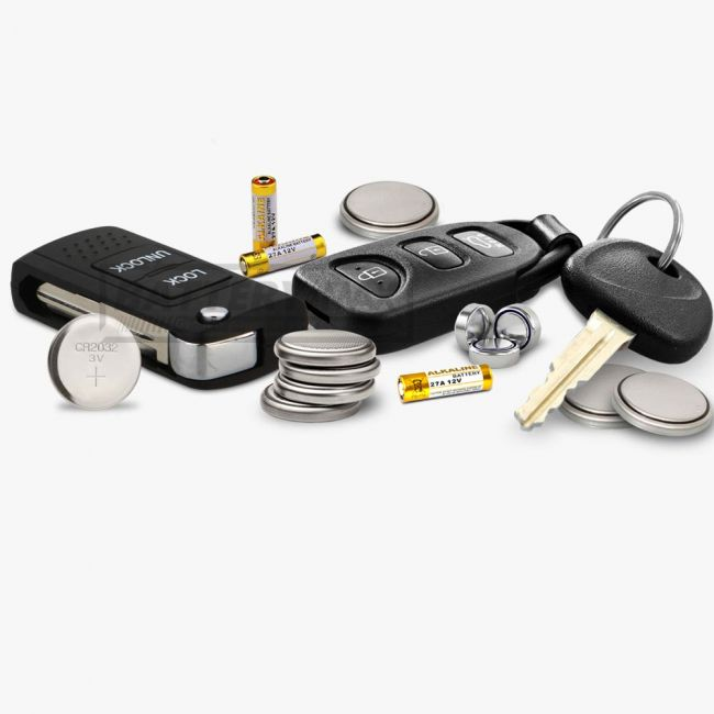 Car Key FOB Remote Battery Replacement Service at Home
