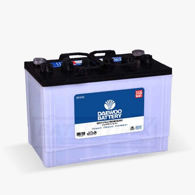 Daewoo DIB-110 Unsealed Lead Acid Battery for Car and UPS