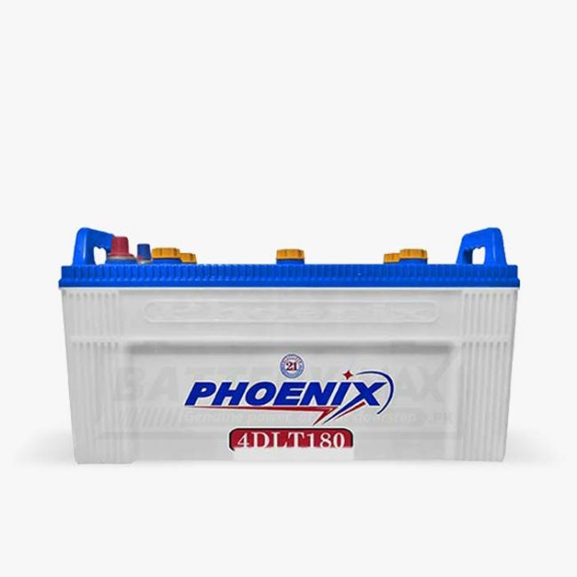 Phoenix 4DLT180 Unsealed Lead Acid Battery for Car and UPS