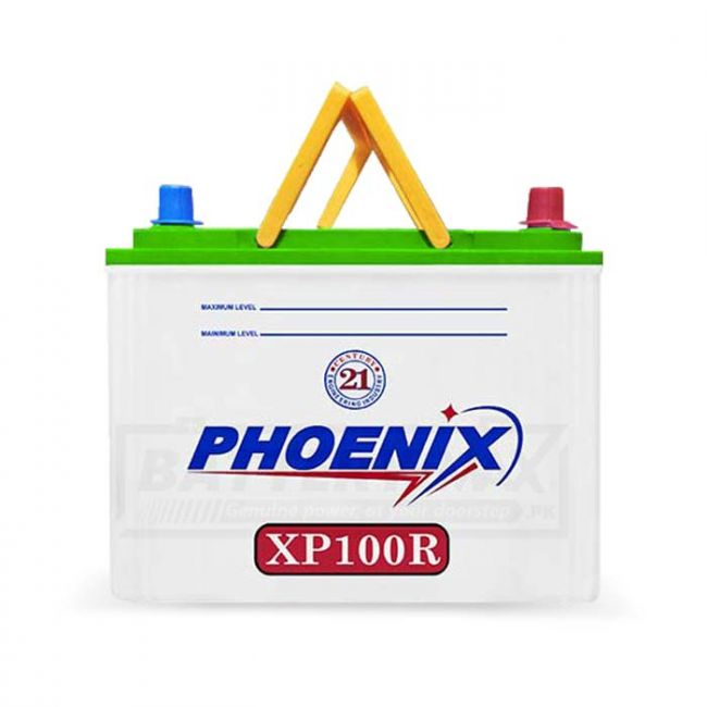 Phoenix XP100R Unsealed Lead Acid Battery for Car and UPS