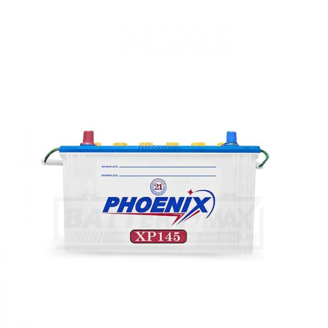 Phoenix XP145 Unsealed Lead Acid Battery for Car and UPS