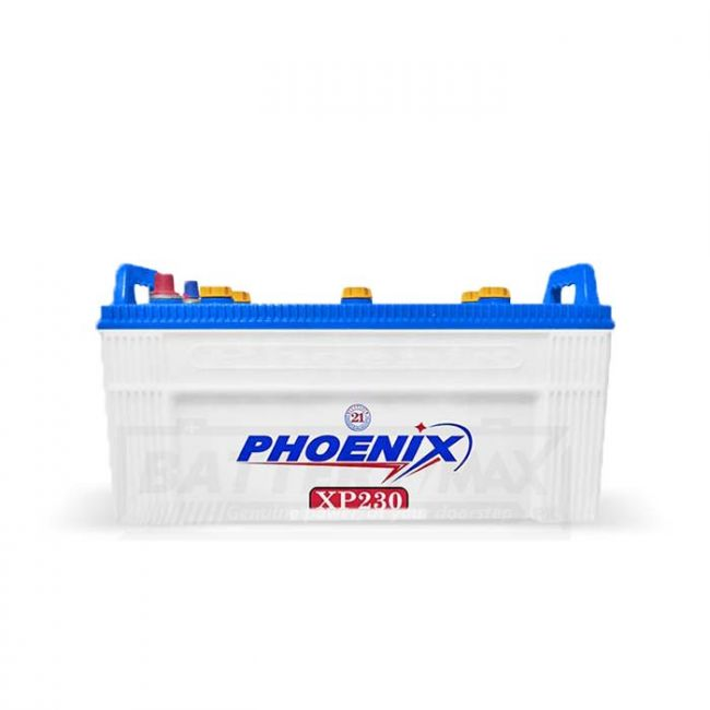 Phoenix XP230 Unsealed Lead Acid Battery for Car and UPS
